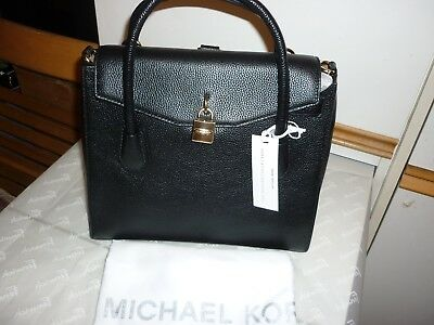 2e44f79e9b3eb1 Michael Kors Studio Collection MERCER Large black ALL IN ONE 100% AUTHENTIC  //