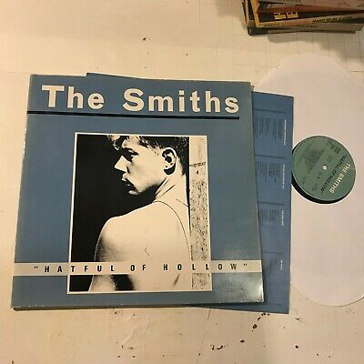 THE SMITHS Hatful Of Hollow original 1984 LP +inr black dot rough FRANCE hateful
