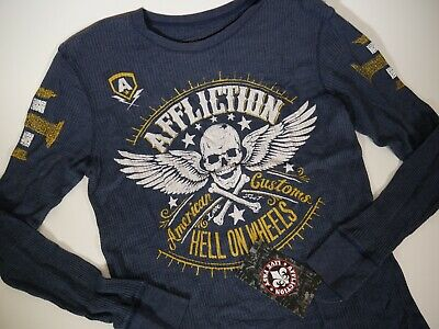 AMERICAN FIGHTER AFFLICTION AMERICAN CUSTOMS HELL ON WHEELS