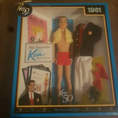My Favourite Ken Doll - Barbie's Bf. 50th Anniversary 1961 Varsity/Beach