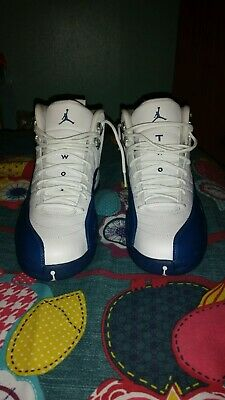 c044cabc25e836 Genuine Nike Air Jordan 12 French Blue Size 9 Uk New With Box