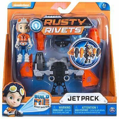 Rusty Rivets Jet Pack Building Set With Rusty Figure