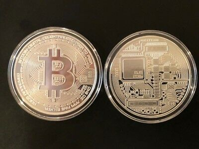 Own Bitcoin!!!--1 Troy oz Proof Silver bullion Commemorative Round