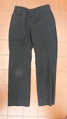 Boys Formal Wedding Usher Black Pants by M & S Size 5-6 years