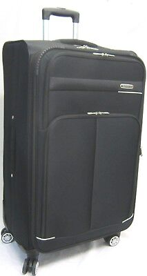 Large 360-4 Double Spinner Wheels Trolley Case Suitcase Luggage Travel Bag