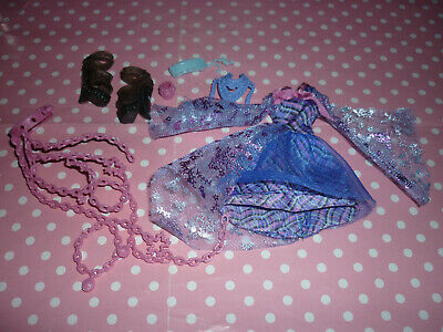 Monster High Clothes, Bag & Acc' from Kiyomi Haunterly Doll for Play/OOAK/Custom