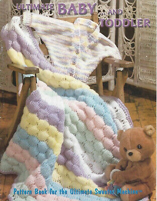 PDF Download Ultimate Sweater Machine Bond Knitting Baby & Toddler Patterns