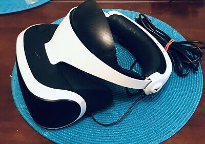 Sony PlayStation VR Headset PSVR PS4 - HEADSET ONLY -  CUH-ZVR2 - NEWEST EDITION