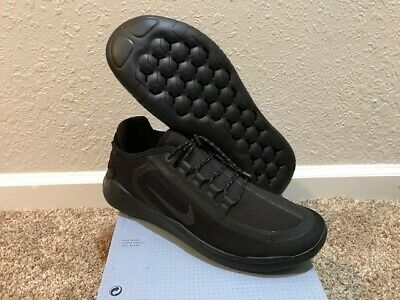8a36ec43f1ec Men s Size 11 Nike Free RN 2018 Shield Running Shoes New In Box Black  Anthracite