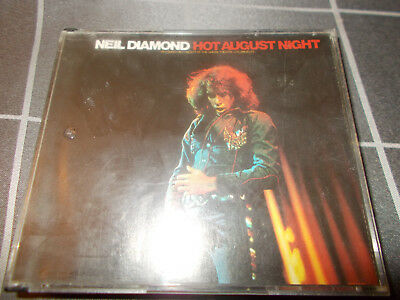 NEIL DIAMOND Hot August Night double CD fatpak