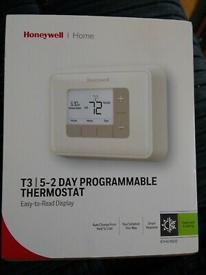 HONEYWELL T3 5-2 Day Programmable Thermostat Controller