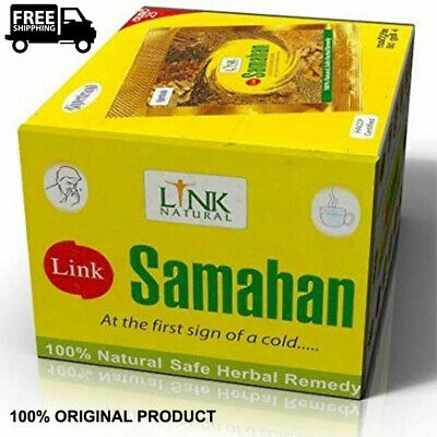 Link SAMAHAN Ayurveda 100% natural REMEDY herbal drink sachets for Cough& Cold