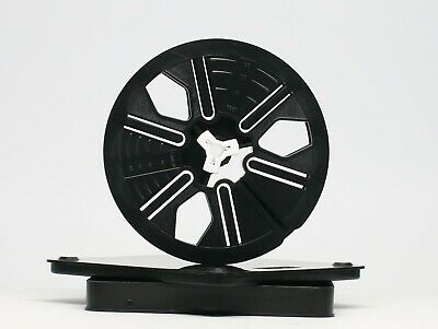 Tuscan 8mm film autoloading 200ft reel and archive storage can case