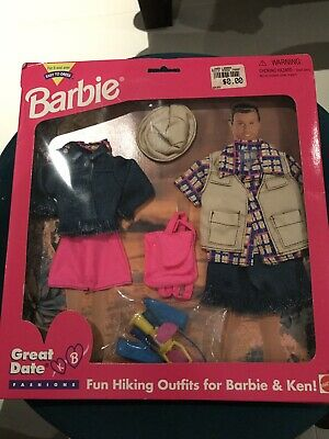 Vintage Collectable 1995 Barbie & Ken Clothes Set In Packaging NEW