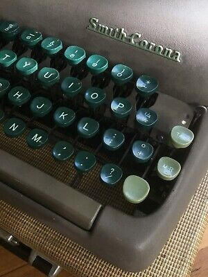 1952 Smith Corona Sterling Typewriter in Case REDUCED FROM $225