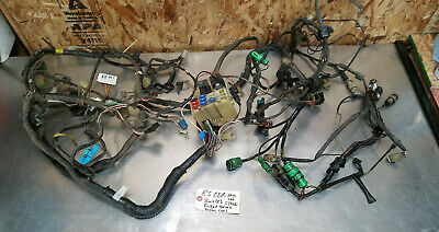 84-86 toyota pickup truck 22r fuse box engine body cowl wire wiring harness  oem