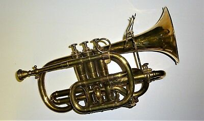 Early 20th Cent. W. Hillyard London brass Cornet