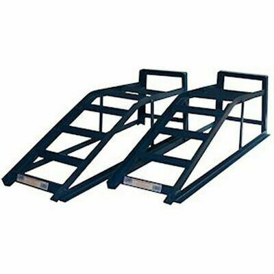Cougar Car Van Ramps Metal 2 Tonne Heavy Duty Pair