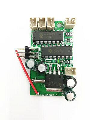 New 4-Channel Remote Control Circuit Board Speaker For 1/16 WPL B16 B36K RC Car