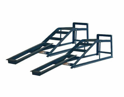 Car Ramps Pair Of 2.5 Ton Tonne Van Extra Wide Metal Lifting With Extensions
