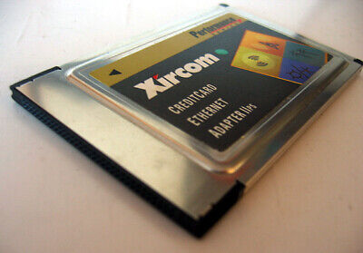 Xircom PS-CE2-10 PCMCIA Credit Card Ethernet Adapter IIps Without LAN Dongle
