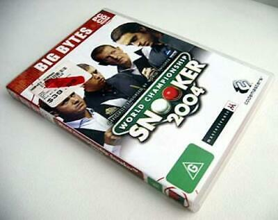 Snooker World Championship 2004 PC Game Software CD Pool Simulation 1 a