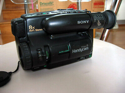 Faulty SONY CCD-TR75E Camcorder Handycam 8mm Video 8 Camera