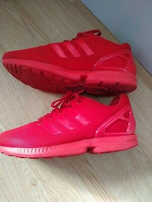 feab87668 ADIDAS RED TORSION ZX Flux Mens Trainers size 5 -  17.63