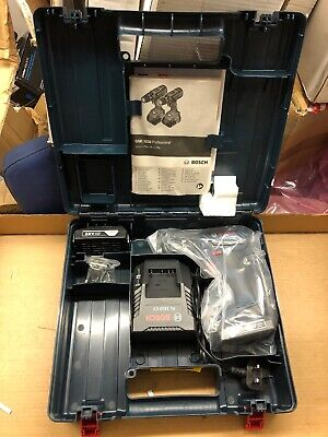 Bosch GSB 18-2-Li Plus With Carry Case, 2 Batteries, Charger And Belt Clip