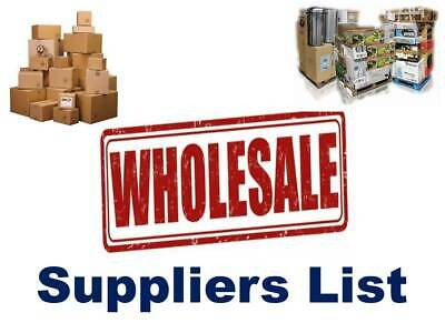 2019 Wholesale & Joblot Suppliers List | 15000+ Websites | Liquidation Clearance