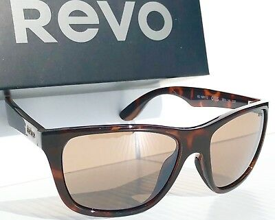 91b39bcec3 NEW! REVO OTIS Tortoise frame w POLARIZED Brown Lens Sunglass 1001 12 BR