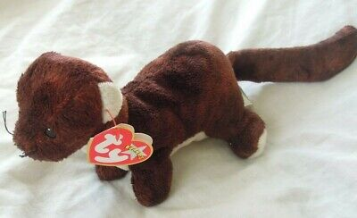 2000 *all Tags Attached Excellent Condition Ty Beanie Baby Runner The Ferret
