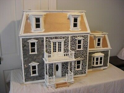 Dollhouse Vintage Hofco House Federal Victorian Dollhouse with Mansard Roof