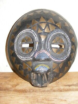 African Decorative Wooden Wall Mask