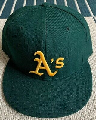 newest a3866 8e8d4 New Era 59Fifty Oakland A s athletics Fitted Hat cap 7 3 4 Mlb