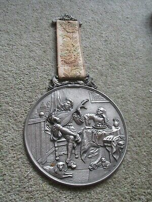 Vintage WMF Sinn Wall Plaque 1661 Design