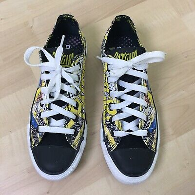 eafa0e7d736f Converse All Stars Batgirl Limited Edition Womans Canvas Sneakers W7 M5