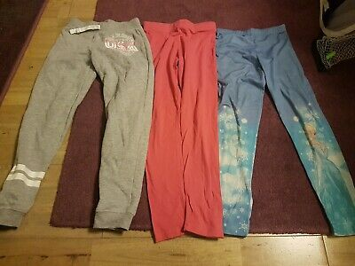 Girls Leggins And Tracksuit Bottoms 8-9yrs