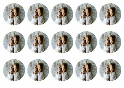 Own image photo toppers edible icing, wafer or wafer card Personalised