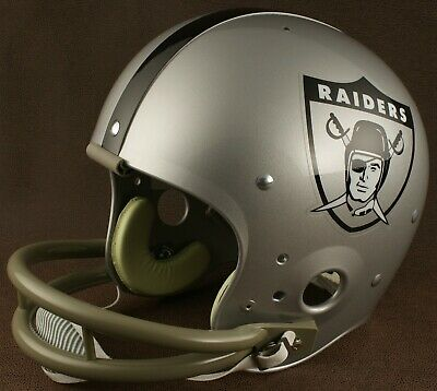 brand new 50638 02031 OAKLAND RAIDERS 1963 NFL Authentic THROWBACK Football Helmet