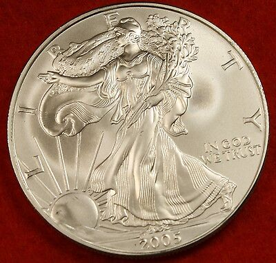 2009 AMERICAN SILVER EAGLE DOLLAR 1 oz .999% BU GREAT COLLECTOR COIN GIFT