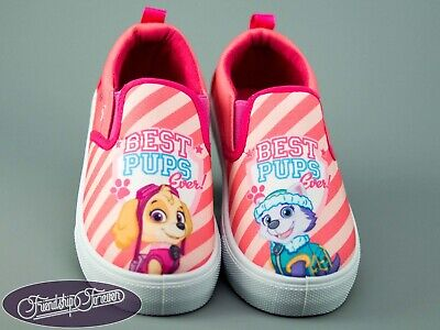 Paw Patrol Chase/&Rubble Kids  Slip-on Shoes Trainers Sneakers Original Licens...