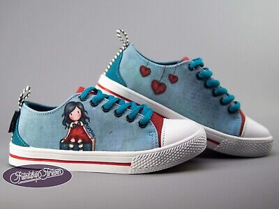 Gorjuss My Story Kids low-top Canvas Shoes Santoro London Trainers Sneakers