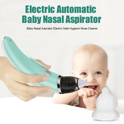 Baby Nasal Aspirator Electric Nose Cleaner Sniffling Equipment Safe Hygienic