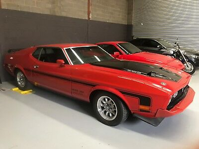 Ford Mustang 1973 Sports Roof  RHD. 351 V8. 4 Speed