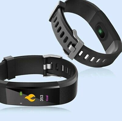 115 PLUS OROLOGIO SMARTWATCH 4.0 FITNESS TRACKER SPORT BAND ANDROID iOS