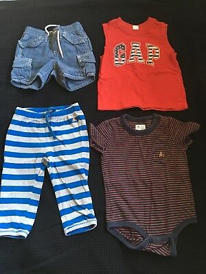 3c3d79e14204 MIXED LOT OF GAP BABY Boy Clothing Size 12-24 Months - $10.20 | PicClick
