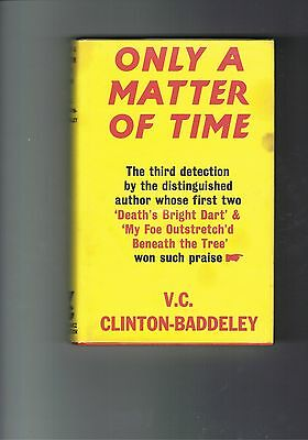 Clinton-Baddeley - Only A Matter Of Time - 1969 1st edition