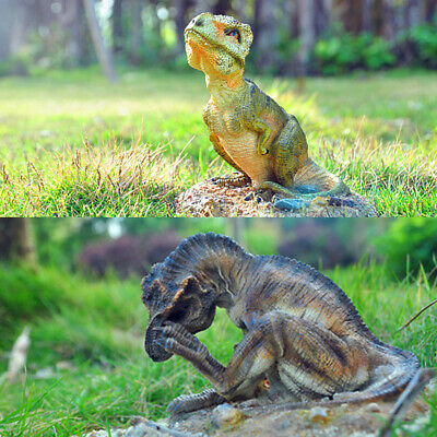 Tyrannosaurus Baby T Rex Statue Figure Dinosaur Model Base Decor Collector Gift