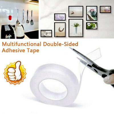Multifunctional Double-Sided Adhesive Tape Traceless Washable Removable Tapes QE